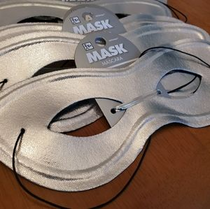 Accessories - Purple, Gold, and Silver masquerade masques